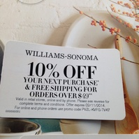 ... snipped a coupon for 10% Off @ Williams-Sonoma with SnipSnap